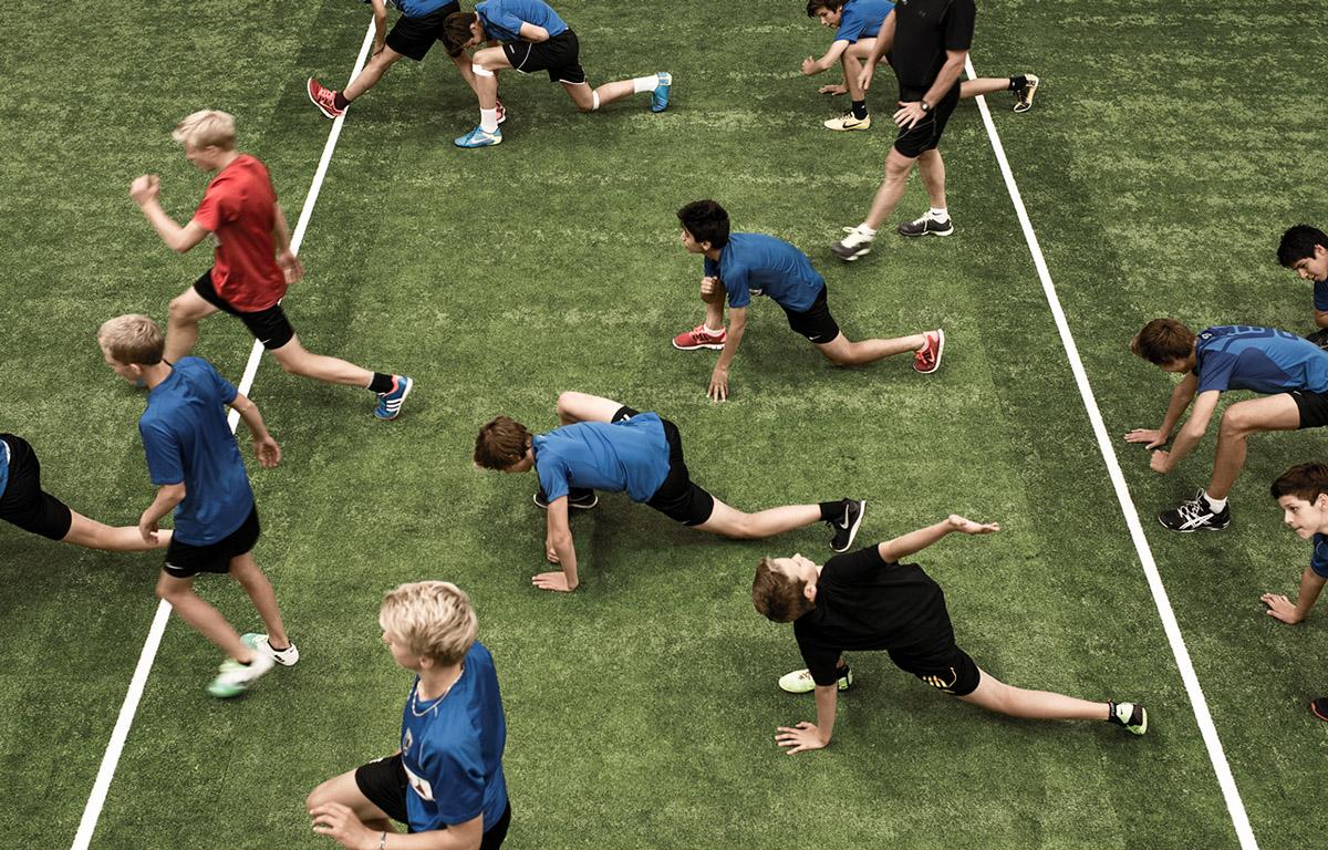 träning barn och ungdom