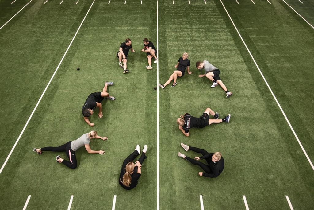 träning i grupp